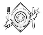 Акватория - иконка «ресторан» в Катунках