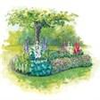 Загородный клуб Усадьба - иконка «сад» в Катунках